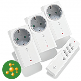 230V Funk Zwischensteckerset (Ein/Aus) IT-1500