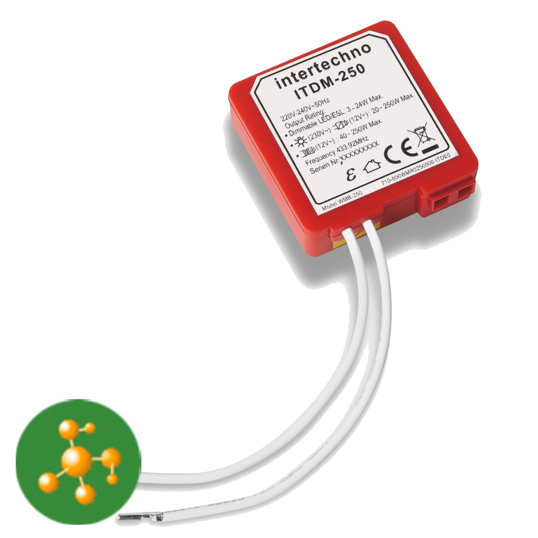 intertechno24.de | Funk Empfänger (Dimmer) ITDM-250 | online kaufen